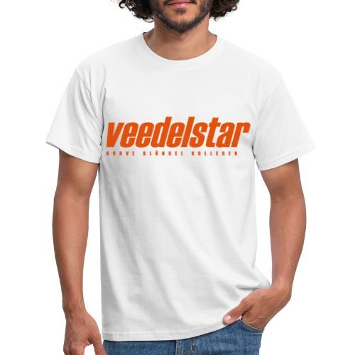 VEEDELSTAR Logo - Männer T-Shirt
