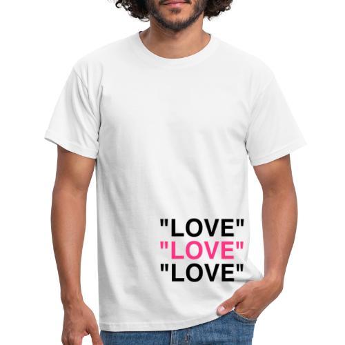 Love love love - Männer T-Shirt