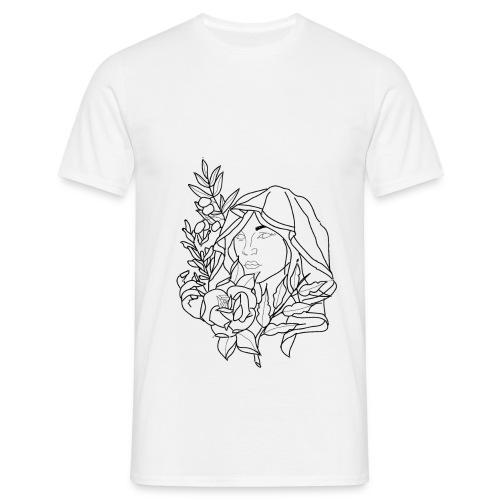 OG woman drawing. - Men's T-Shirt