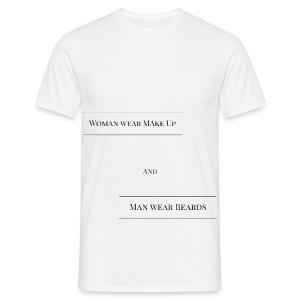 T-Shirt für Mann und Frau - Männer T-Shirt