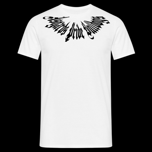 Stachelhalsband Schwarz - Männer T-Shirt