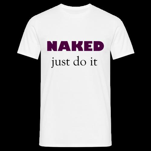 Naked Collection - T-skjorte for menn
