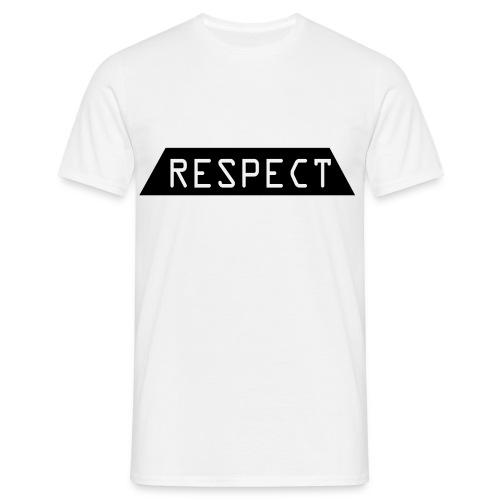 Respect - T-skjorte for menn