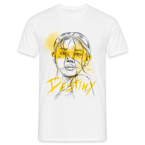 Destiny Yellow - T-shirt Homme