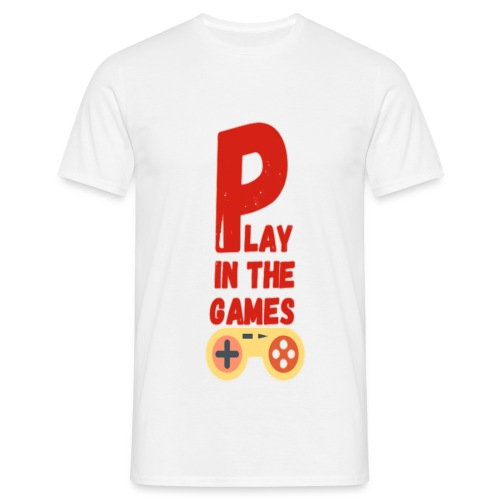 T-Shirt pour homme play in the games - T-shirt Homme