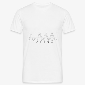 Jahaa racing logo - T-skjorte for menn