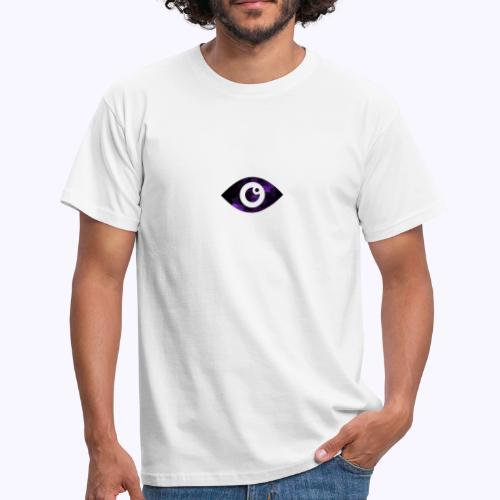 Occhio del destino viola - Maglietta da uomo