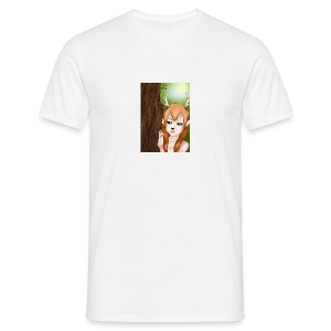 Sam sung s6:Deer-girl design by Tina Ditte - Men's T-Shirt