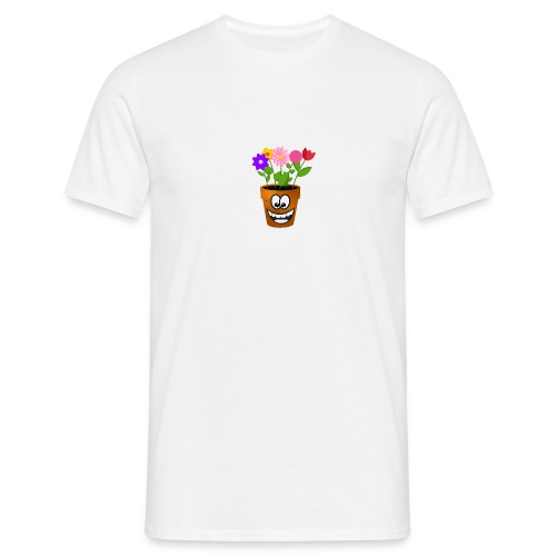 Pot logo less detail - Mannen T-shirt