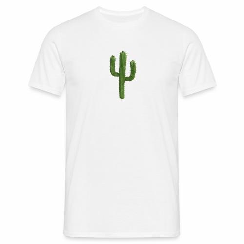 grune kaktus - Männer T-Shirt