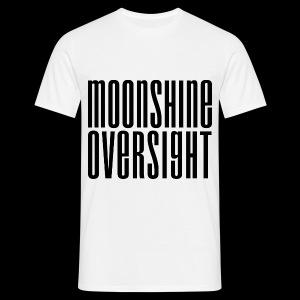 Moonshine Oversight noir - T-shirt Homme