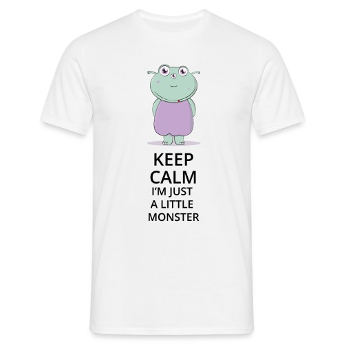 Keep Calm - Little Monster - Petit Monstre - T-shirt Homme