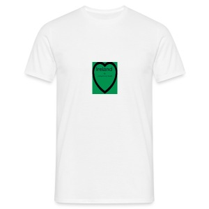 Ireland always in my heart - Men's T-Shirt