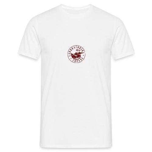 logo rosso - Maglietta da uomo
