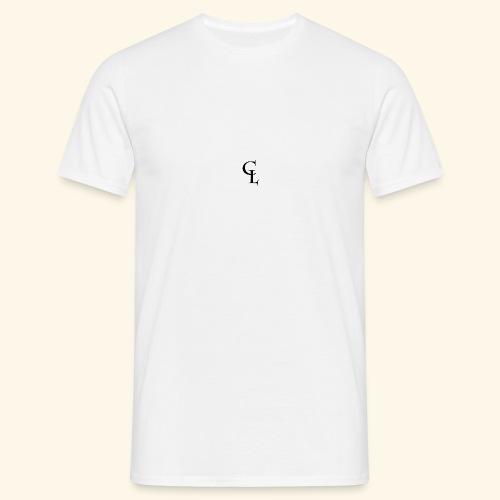 CrownLion Iniciales - Camiseta hombre