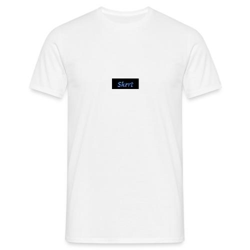 Skrrt Camuflage Blue - Männer T-Shirt