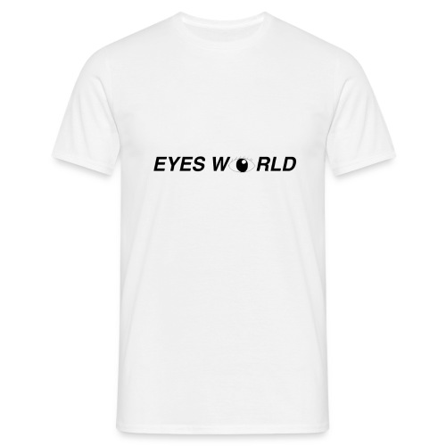 Eyes world look - T-shirt Homme