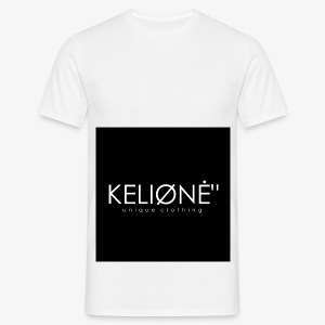 "Black KELIØNĖ ""design - Men's T-Shirt"