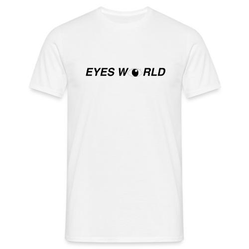 Eyes world look - T-shirt Homme