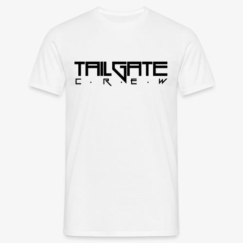 Tailgate svart - T-skjorte for menn