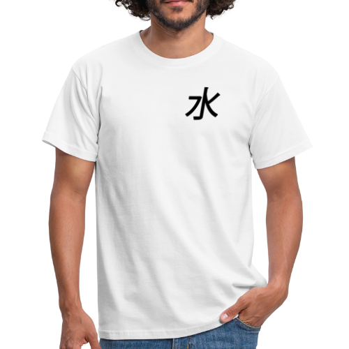 water #element - Herre-T-shirt