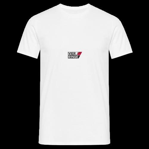 Vier-Ringe Logo - Männer T-Shirt