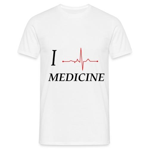 I Love Medicine T-Shirt - Männer T-Shirt