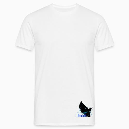 AicoN logo - T-skjorte for menn