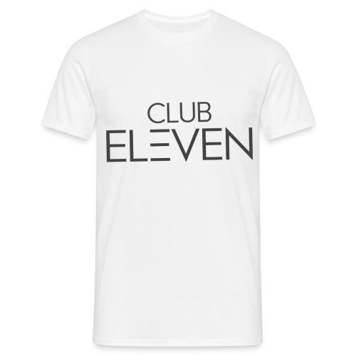 ClubEleven Schriftzug - Männer T-Shirt