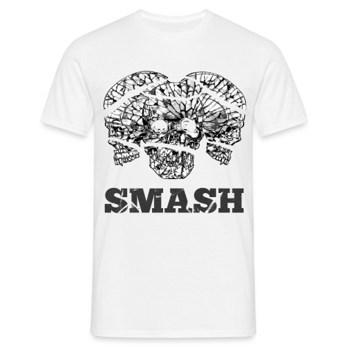 SKULL SMASHED - Men's T-Shirt