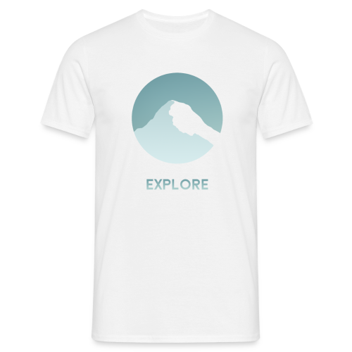 Explore - Mannen T-shirt