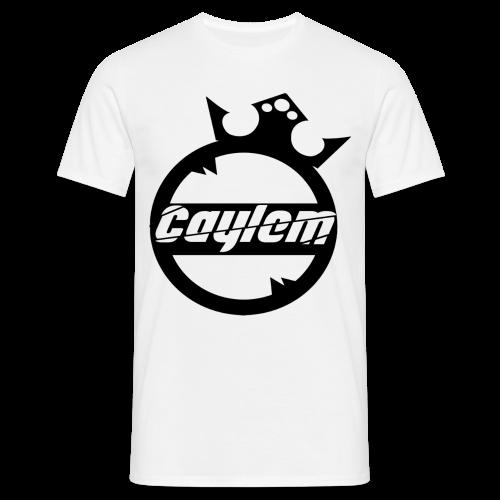 Caylem Logo Schwarz - Männer T-Shirt