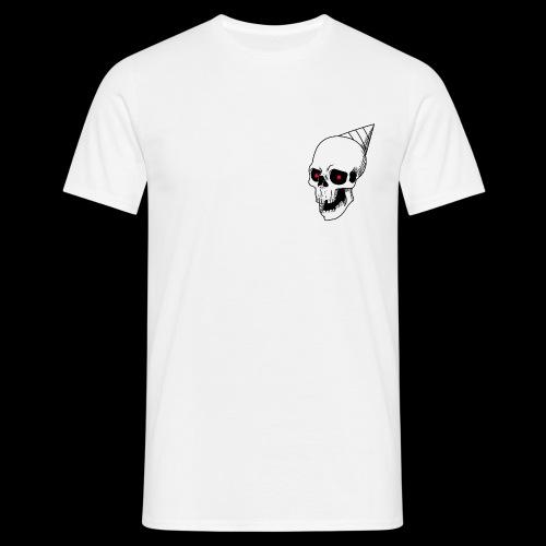 Party Skull T-shirt - Men's T-Shirt