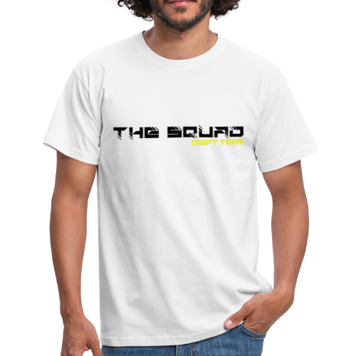 The Squad Logo Sort - Herre-T-shirt