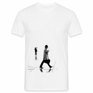 La Défense, Paris in the rain - Men's T-Shirt