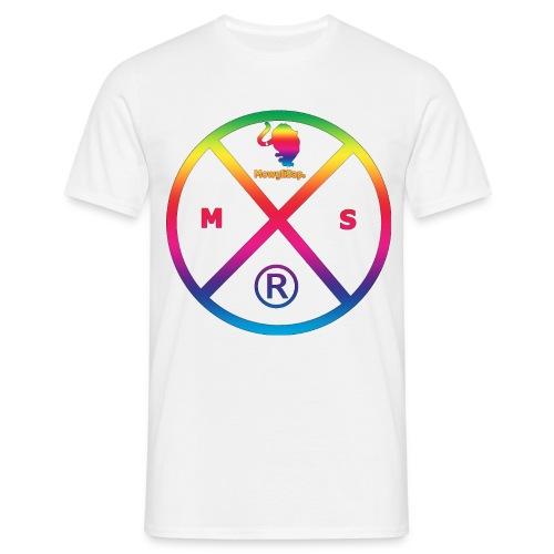 MS logo multicolor - T-shirt Homme