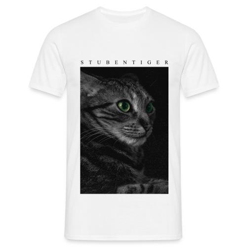 Stubentiger. Cooles Katzenfoto für Hipster - Männer T-Shirt