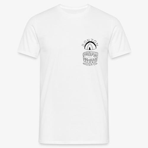 Donjon Cyclops Black Logo Print - Men's T-Shirt