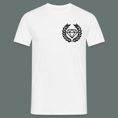 Black diamond Logo - Men's T-Shirt