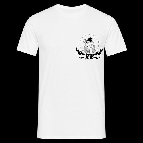 Classic Logo T-shirt Black/White - Men's T-Shirt