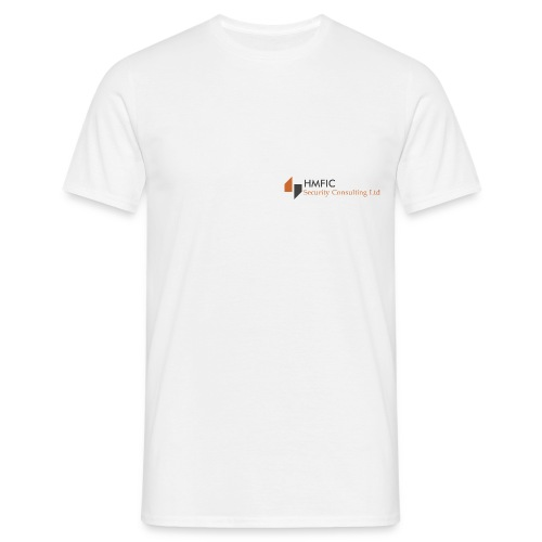 HMFIC Security Consulting Logo - Männer T-Shirt