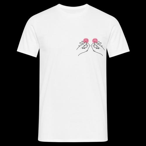 Love hearts T-shirt - Men's T-Shirt