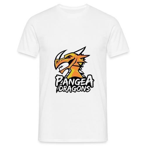 PanGea Dragons - Yellow - Männer T-Shirt