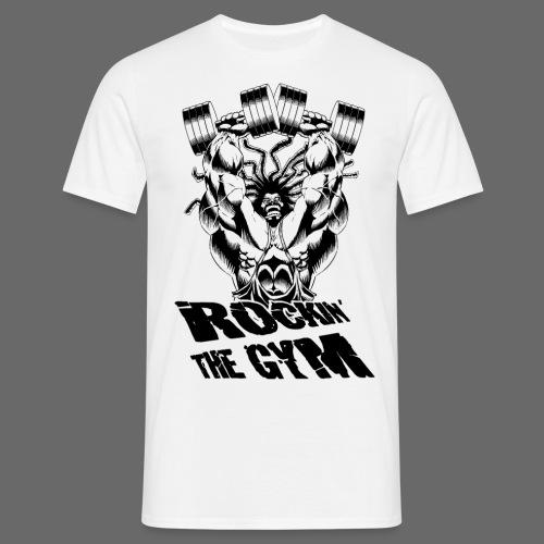 Hoacore - Rockin the Gym - Männer T-Shirt