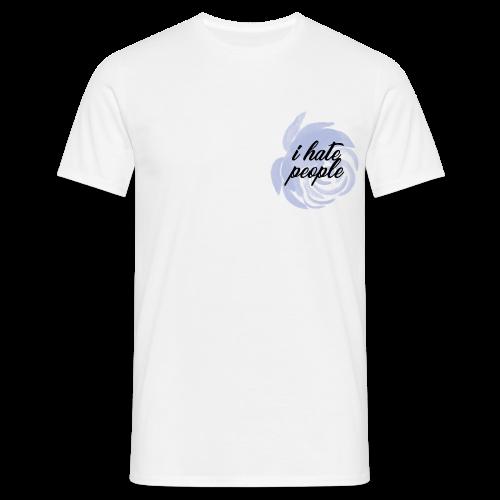 I Hate People Blue - Men's T-Shirt