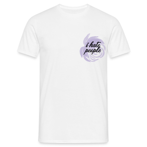 I Hate People Lilac - Men's T-Shirt