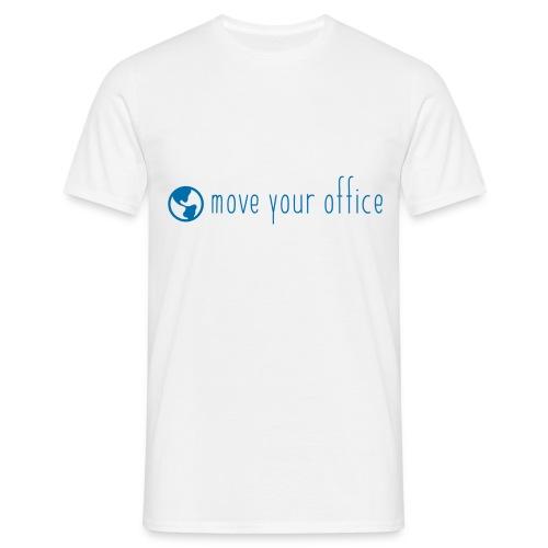 Das offizielle move your office Logo-Shirt - Männer T-Shirt