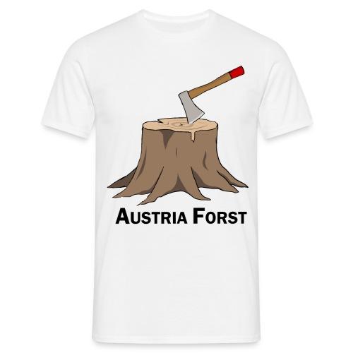 Baumstumpf - Männer T-Shirt