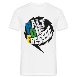 AGGRO.TV - Halt die Fresse T-Shirt - Männer T-Shirt