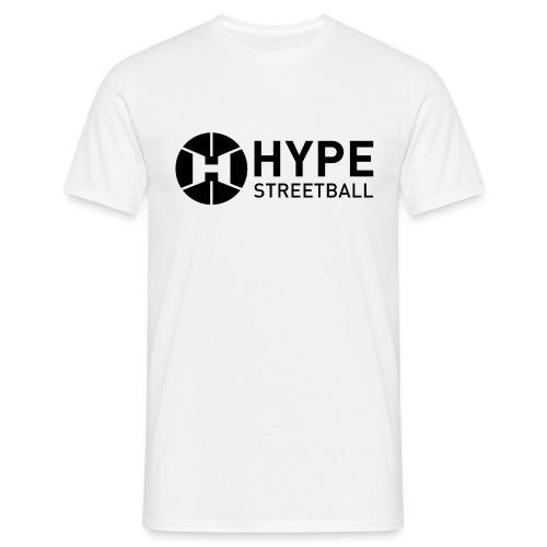 DC HYPE 001 Logo Official FINAL Black HORI - Men's T-Shirt